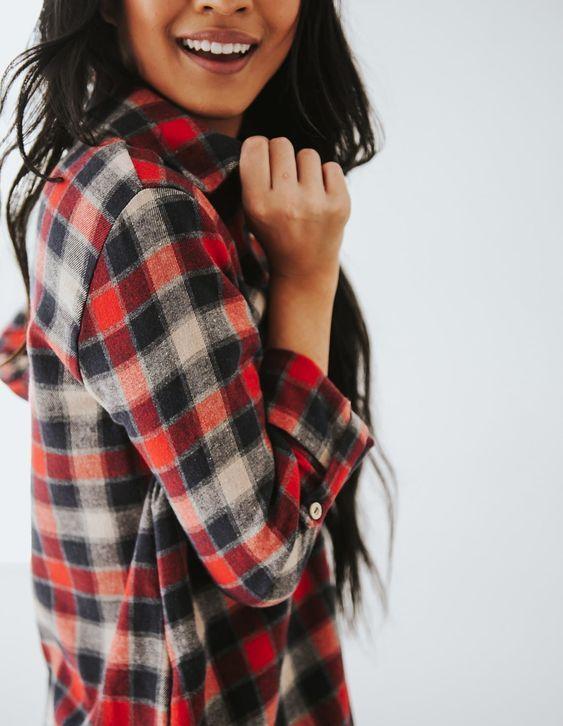 25 مدل لباس چهارخانه دخترانه و زنانه پاییزی + راهنمای خرید و ست کردن