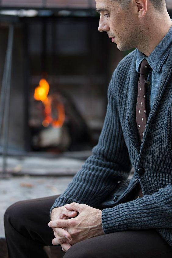 مدل ژاکت مردانه 2019 |مدل ژاکت جلو باز و لباس بافتنی مردانه 1398