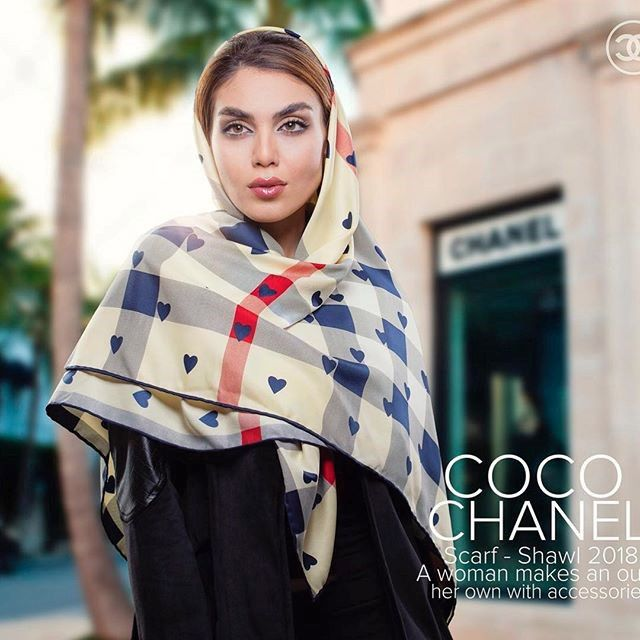 مدل شال و روسری 1400 | انواع مدل های شال و روسری زیبا و مجلسی 2021