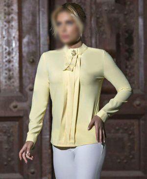 بهترین مدل لباس های شومیز مجلسی 2018 و 2019 در انواع حریر ،آستین کلوش ،کوتاه و بلند