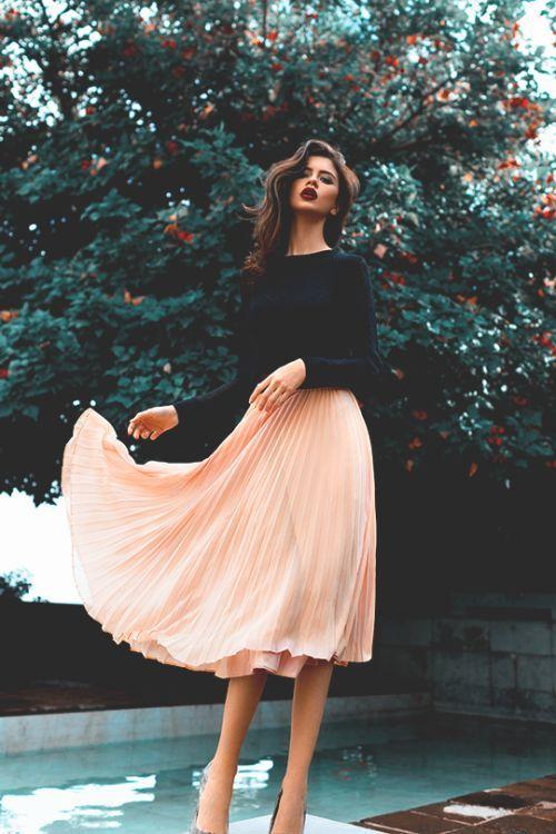 مدل های دامن زنانه و دخترانه 2019 | مدل دامن رسمی و غیر رسمی 98