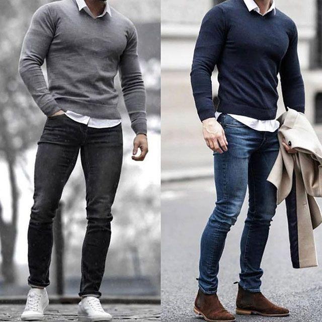 30 مدل لباس پاییز مردانه 1398 و 2020 | خاص ترین استایل ها + راهنمای ست کردن 98