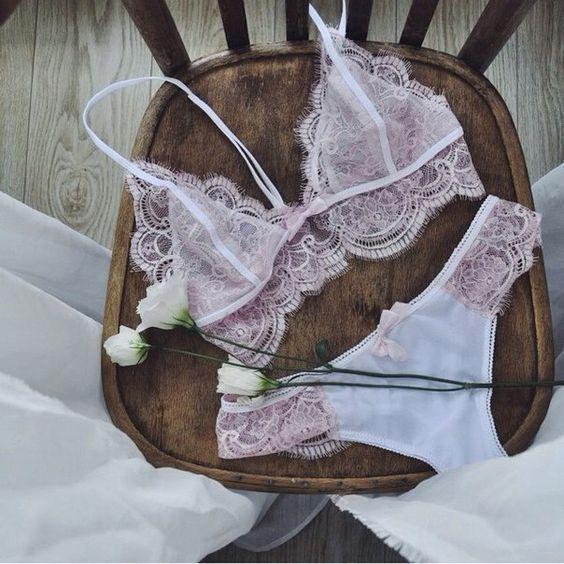 لباس زیر زنانه و دخترانه شیک و زیبا + ست لباس زیر عروس برای شب زفاف