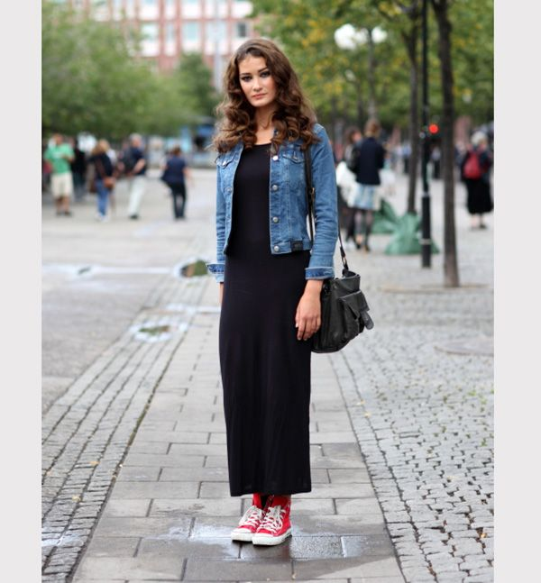 25 مدل لباس ماکسی دخترانه مجلسی + راهنمای خرید و ست کردن