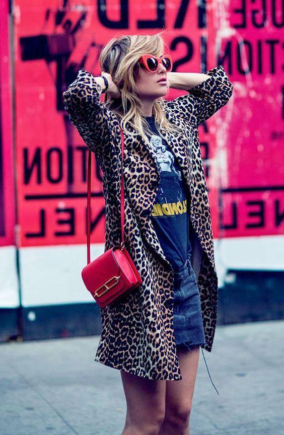 لباس مجلسی پلنگی 2021 | بهترین مدل ها و ست های پلنگی زنانه 99