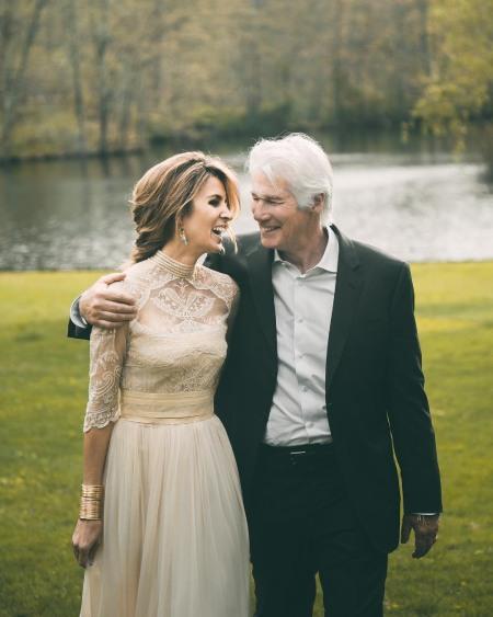 تصاویر ریچارد گیر,ریچارد گیر در زن زیبا,ریچارد گیر و همسرش