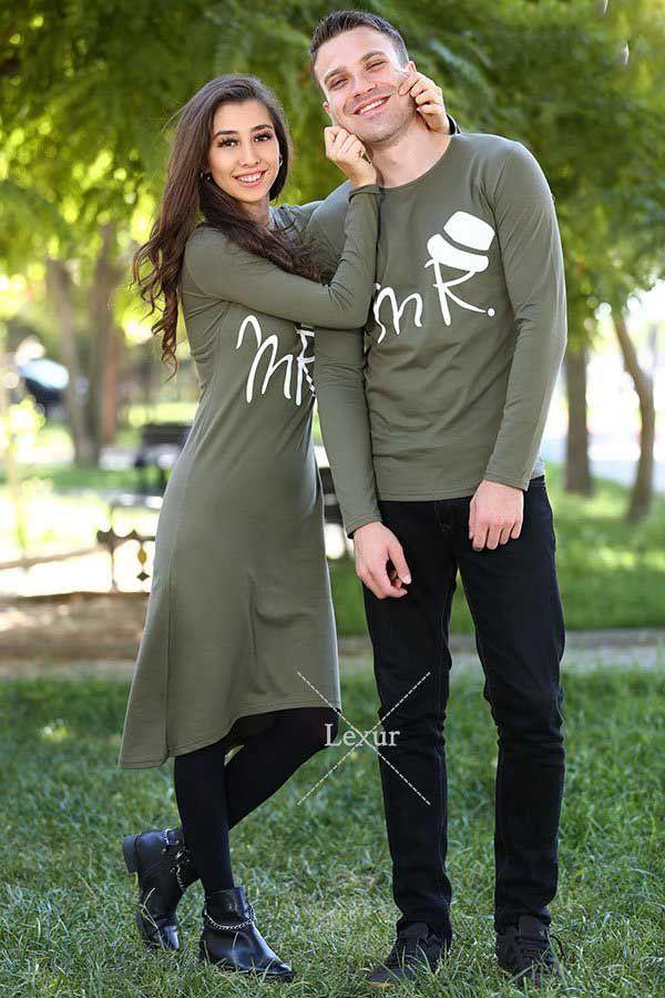 ست لباس دختر و پسر جذاب و لاکچری 2018 و 2019 مخصوص زوج های شیک پوش