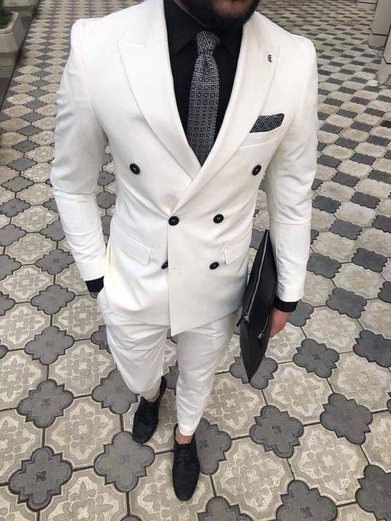 مدل کت و شلوار رنگی مردانه + راهنمای خرید و ست کردن کت و شلوار