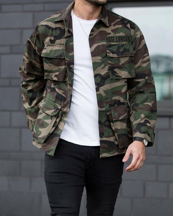 25 مدل لباس ارتشی مردانه | پرطرفداترین مدل ها + راهنمای ست کردن لباس ارتشی