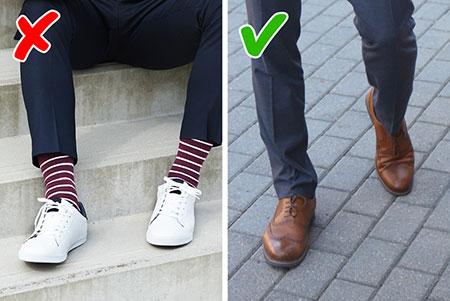 10 اشتباه لباس پوشیدن آقایان,راهنمای لباس پوشیدن آقایان