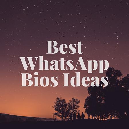 بیوگرافی زیبا برای واتساپ و تلگرام, بیو های کوتاه