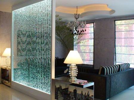 شیک ترین آبشارهای شیشه ای, دکوراسیون آبشارهای شیشه ای