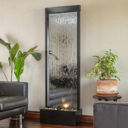 طراحی های مدرن آبشارهای شیشه ای,آبشارهای شیشه ای
