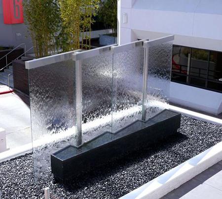 مدل آبشار شیشه ای, آبشارهای شیشه ای