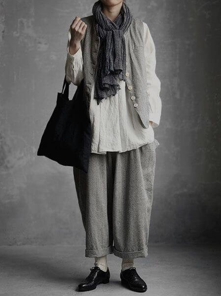 ایده هایی برای لباس به سبک وابی سابی, مد وابی سابی
