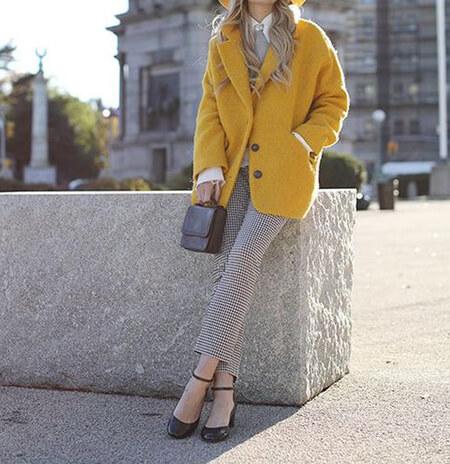 نحوه ی ست کردن زرد با خاکستری, ایده هایی برای ست کردن خاکستری و زرد