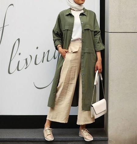 نکاتی برای ست کردن با مانتو سبز, مدل های لباس برای ست با مانتو سبز