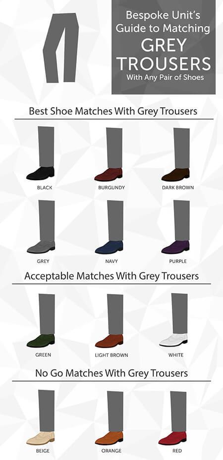 رنگ کفش های مناسب با شلوار خاکستری, ست شلوار خاکستری با کفش