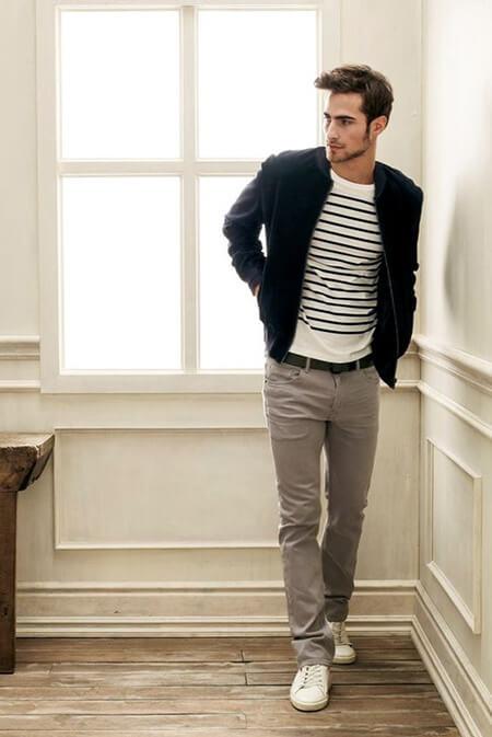 بهترین رنگ کفش با شلوار خاکستری,رنگ کفش های مناسب با شلوار خاکستری