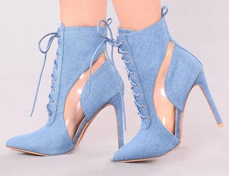 مدل بوت آبی, بوت های شیک آبی