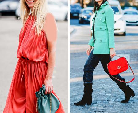 ست رنگ های لباس, راهنمای انتخاب لباس رنگی
