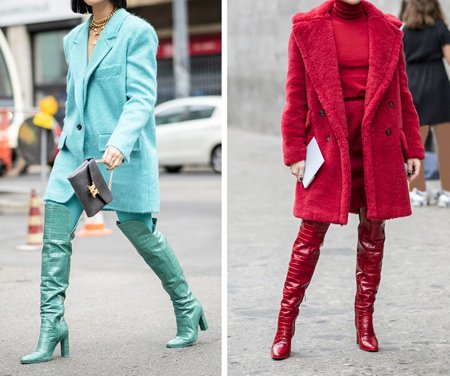 راهنمای انتخاب لباس رنگی, ایده هایی برای رنگ های ترکیبی