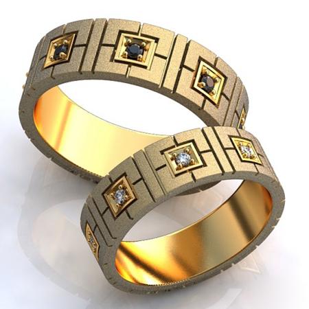 حلقه های نامزدی نگین دار,حلقه های نگین دار