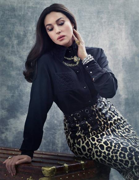 تصاویر مونیکا بلوچی روی مجله مد, مونیکا بلوچی