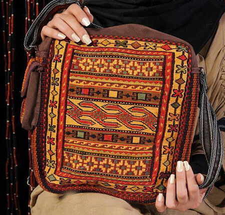 شیک ترین کیف های گلیمی, مدل کوله پشتی گلیمی