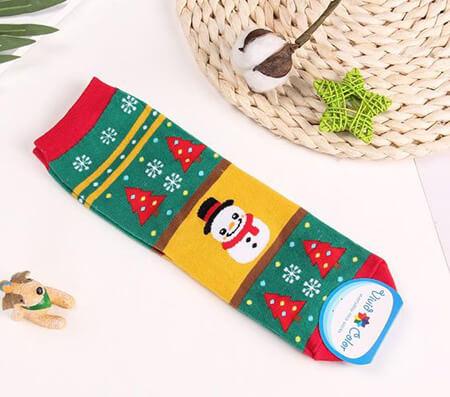 جوراب با طرح برف, جوراب های مناسب کریسمس