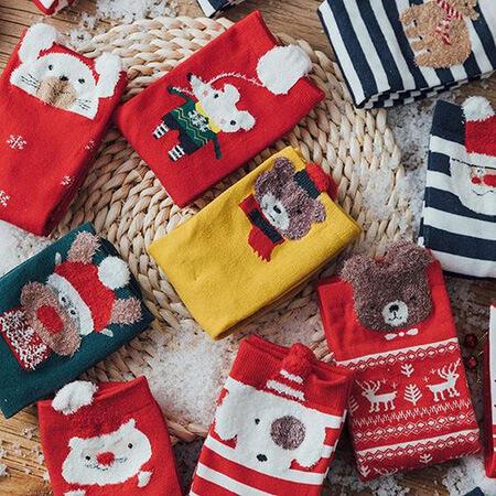 مدل های جوراب با طرح کریسمس, شیک ترین مدل جوراب با طرح کریسمس