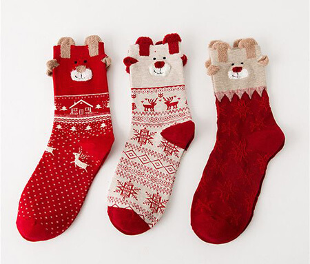 جوراب با طرح کریسمس, مدل جوراب با طرح کریسمس