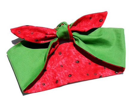 دستمال سر با طرح هندوانه, مدل دستمال سر با طرح هندوانه