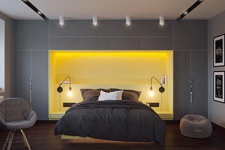 طراحی خانه به رنگ 2021, چیدمان خانه به رنگ 2021