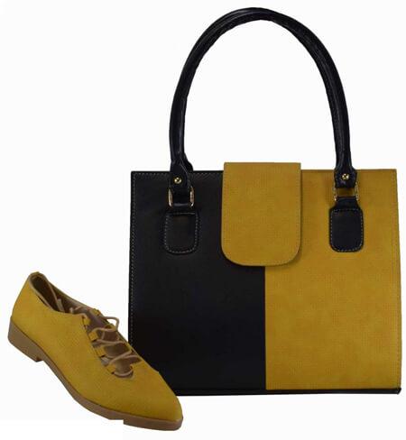 جدیدترین مدل های کیف و کفش زرد, مدل کیف و کفش زرد, ست های زیبای کیف و کفش زرد