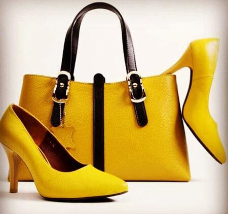 ست های کیف و کفش زرد مجلسی, ست های شیک کیف و کفش زرد, ایده هایی برای ست کیف و کفش زرد
