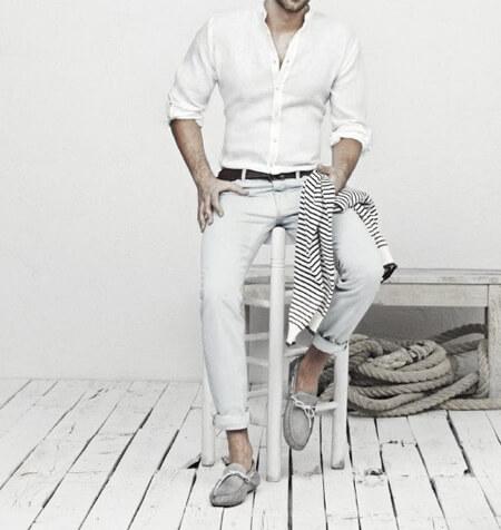 بهترین رنگ ها برای ست با کفش خاکستری, رنگ های مناسب شلوار با کفش خاکستری