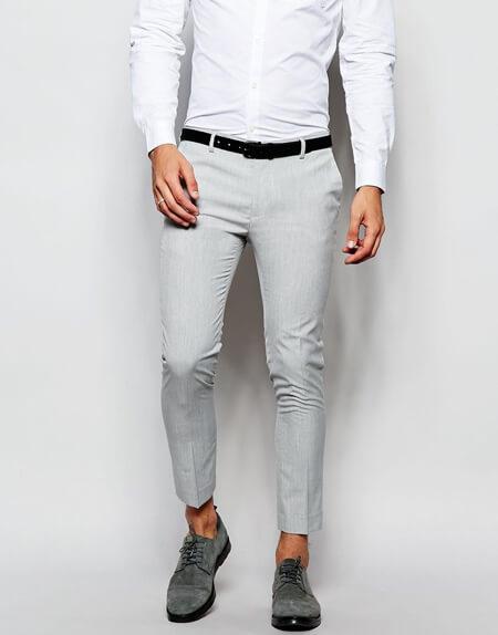 مناسب شلوار با کفش خاکستری, بهترین رنگ شلوار با کفش خاکستری