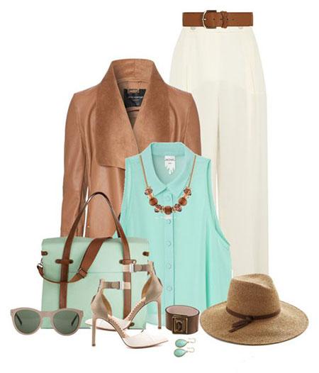 ست کردن لباس با سبز پاستیلی, بهترین رنگ های ست کردن با سبز پاستیلی
