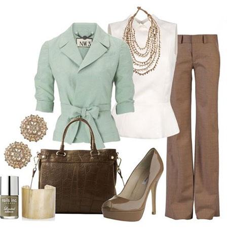 ست لباس و کیف و کفش با سبز پاستیلی, ست کردن لباس با سبز پاستیلی