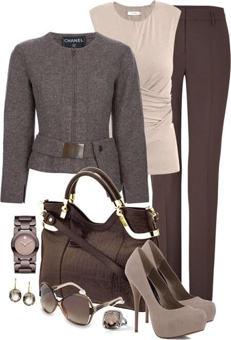 رنگ های مناسب برای ست با رنگ خاکستری, ست های مناسب با رنگ طوسی, ست های مناسب با رنگ خاکستری