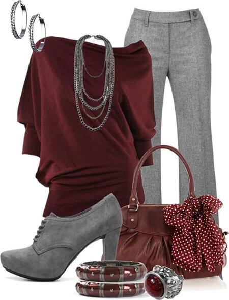 ست مانتو خاکستری, ایده هایی برای ست کردن با رنگ خاکستری, بهترین رنگ ها برای ست کردن با خاکستری