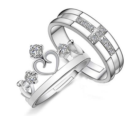 حلقه های نگین دار,مدل حلقه های بدون نگین