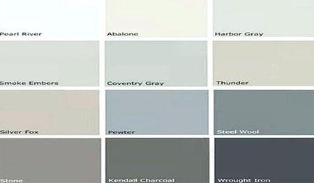 انواع رنگ های طوسی, همه چیز درباره ی رنگ طوسی