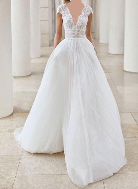 لباس عروس مناسب,راهنمای انتخاب لباس عروس مناسب