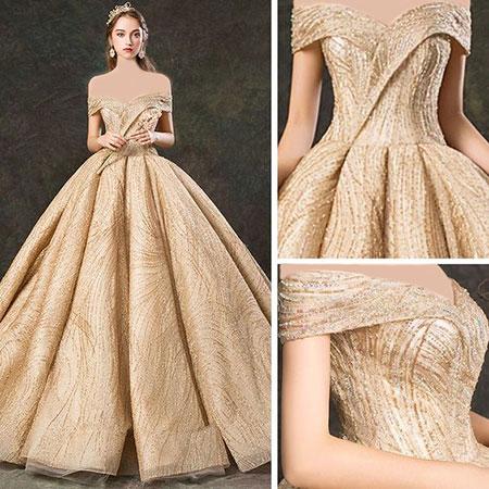 راهنمای انتخاب لباس عروس مناسب,در مورد لباس عروس