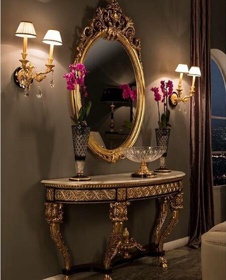مدل های شیک آینه و کنسول دیواری, طرح های شمعدان دیواری