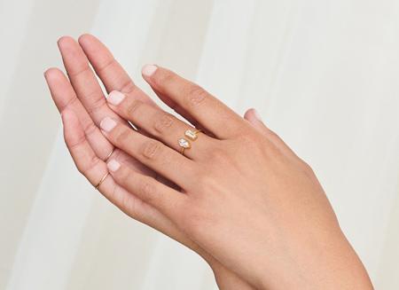 انگشترهای جفتی دخترانه,مدل انگشتر دخترانه