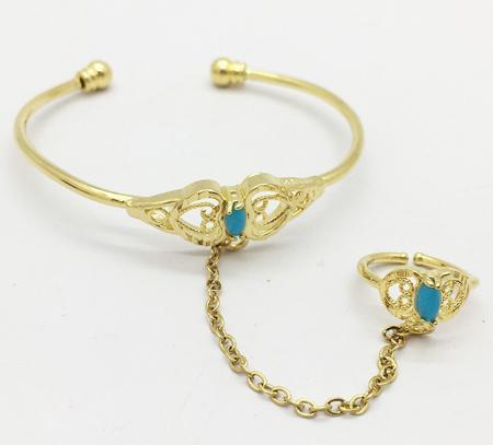 ایده هایی برای دستبند انگشتری بچه گانه,دستبند انگشتری دخترانه