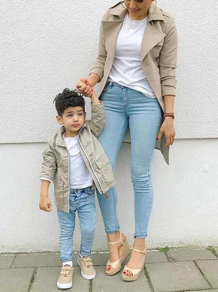 جدیدترین ست لباس های مادر پسری, تصاویر ست های مادر و پسر